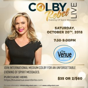 Colby Rebel Live Psychic Medium