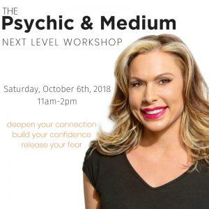 Psychic & Medium-Next Level Workshop