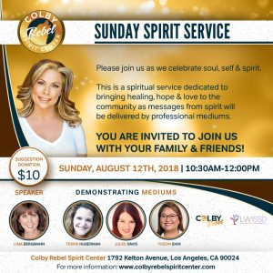 Sunday Spirit Service