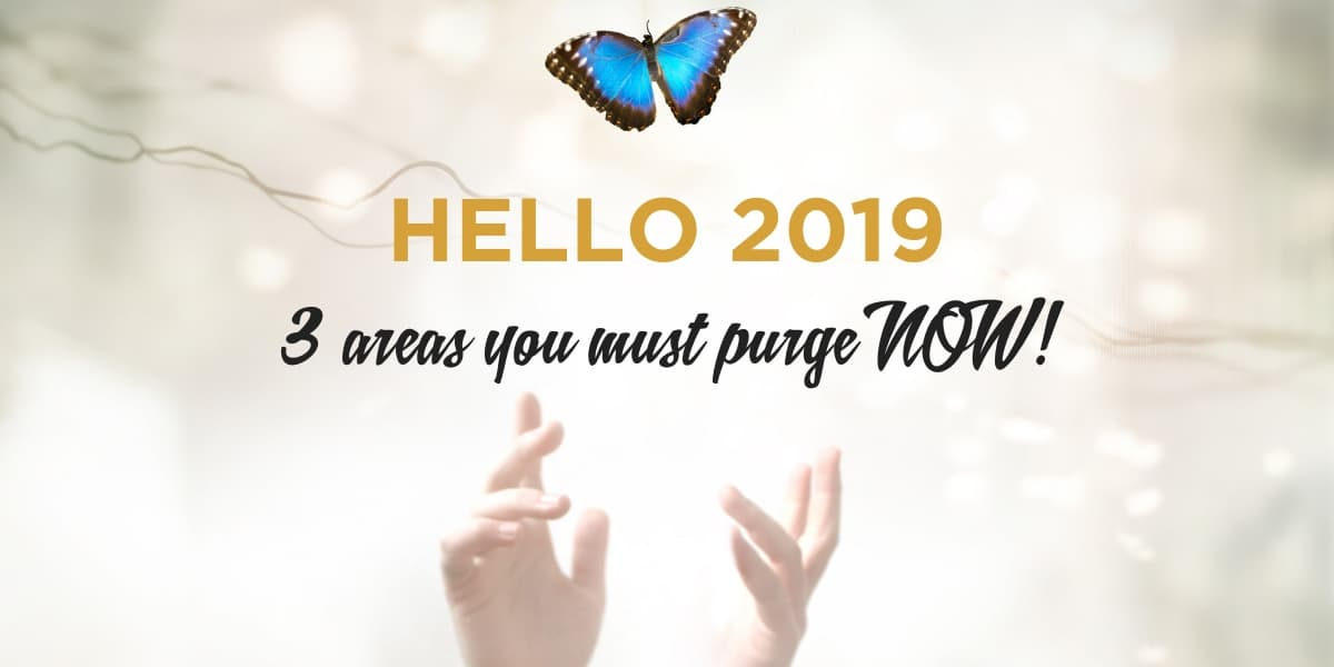 3 AREAS YOU MUST PURGE NOW-Blog Post