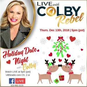 Live with Colby Rebel-Holiday Date Night