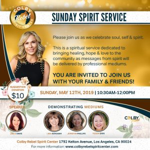 Sunday Spirit Service-May