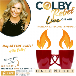 Colby Rebel LIVE Date Night