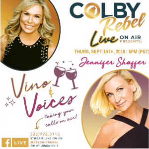 Colby Rebel LIVE Vino and Voices Jennifer Shaffer